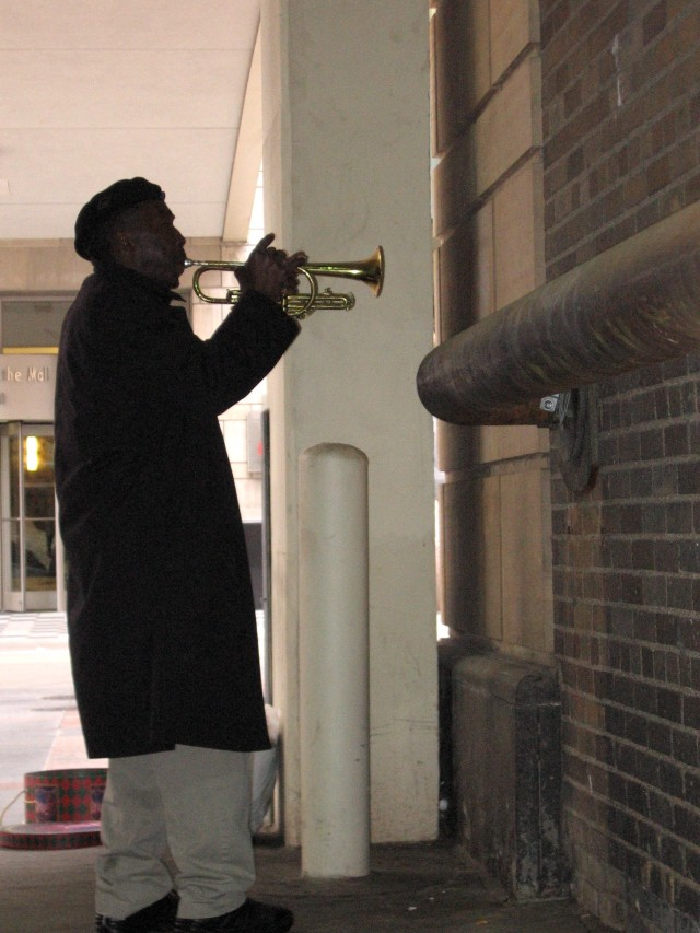 Man With Trumpet